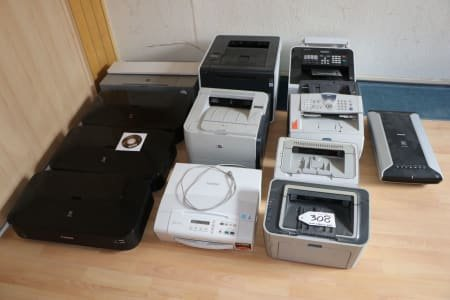 Lot of Copier and Scanner