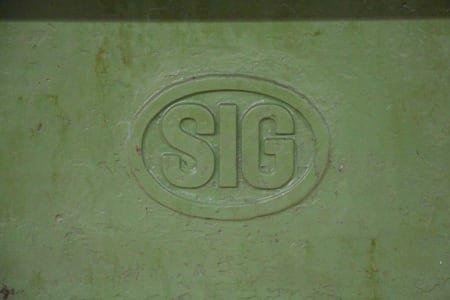 SIG Keyway Drawing Machine / Broaching Machine