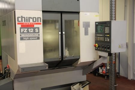 Centro de mecanizado vertical CHIRON FZ 12 S MAGNUM HIGHSPEED