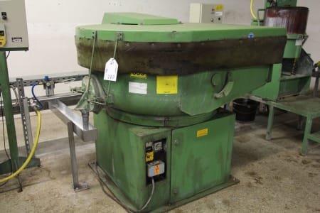 WALTHER TROWAL CV 225 Round Trough Vibratory Finishing Machine