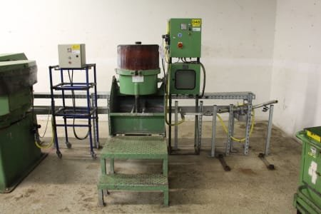 WALTHER TROWAL TT 25 Centrifugal Vibratory Grinding Machine
