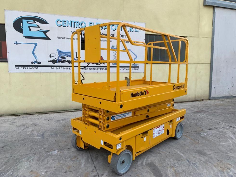 Plataforma de tijera 10Mt Haulotte Compact 10