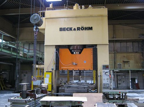 Forming Press -hydraulic, single action-