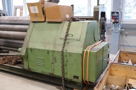 Máquina curvadora para chapa MAWAL
