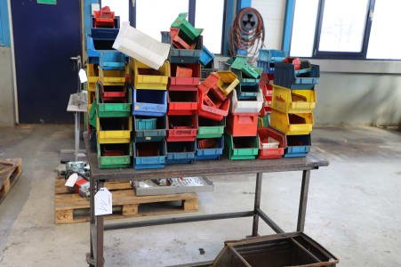 Workshop Trolley with Content