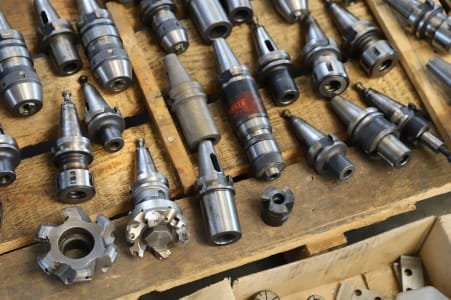Lot of SK 30 Tool Holders