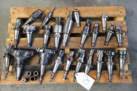 Lot of SK 40 Tool Holders