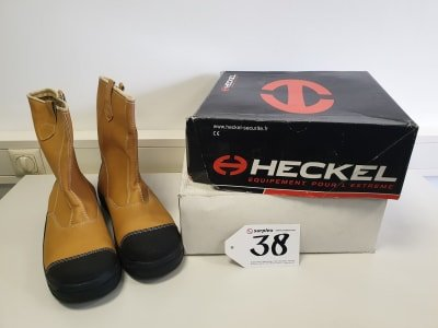 HECKEL MacDerrick Extrem 2 pairs of safety boots