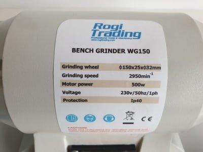 ROGI WG150 grinding machine