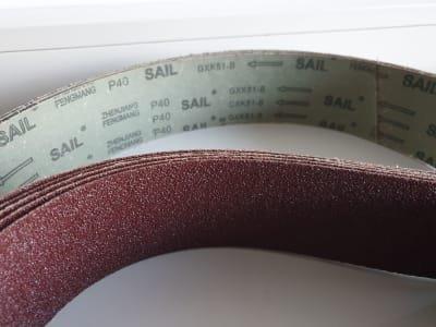 ROGI K40 sanding belt (5x)