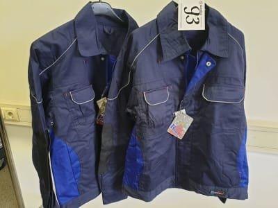 BLU CITY 163F work coat (2x)