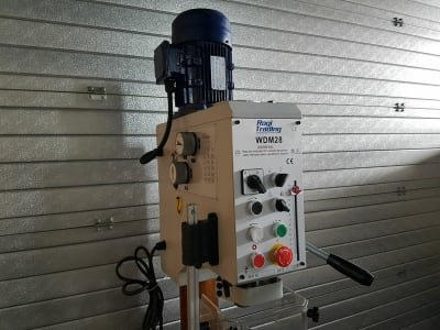 ROGI WDM28 gear standing drilling machine