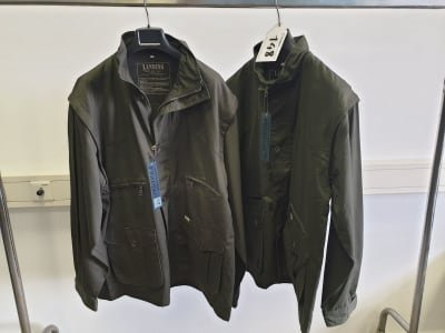 LANDING Outdoor Clothing work coat (2x)