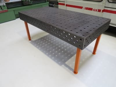 WMT 2000 / 1000 Welding table / assembly table