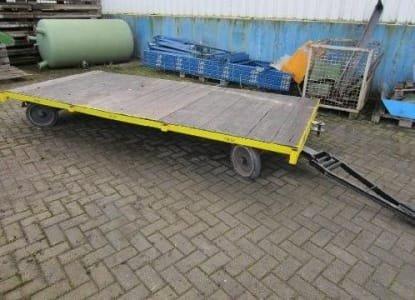 PLAN 2t / 3,5 x 1,6 Heavy duty traile