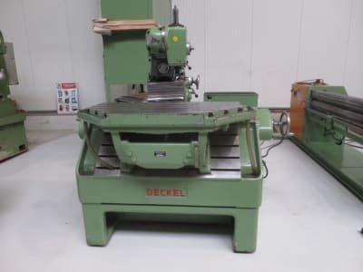 Tool Milling Machine DECKEL FP 2 LB