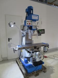 HBM BF 60 DRO Drilling and milling machine