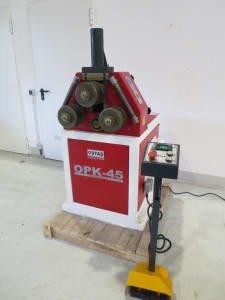 OSTAS OPK 45 digi Profile-Bending Machine