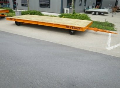 WMT D05/5,0 x 2,0 Heavy-duty trailer
