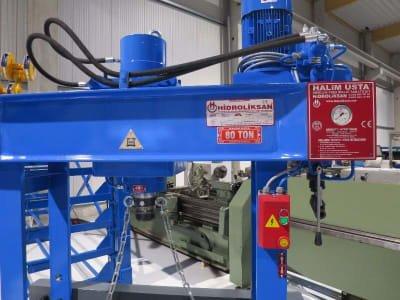 HIDROLIKSAN HD 60 - 820 workshop press