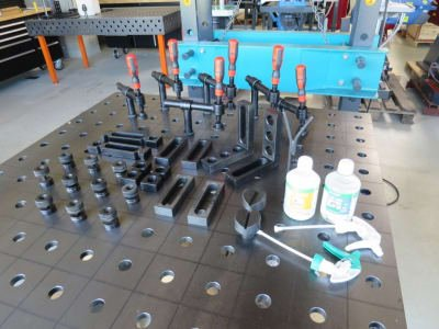 Accesorios para mesa para soldar WMT Basic-Set 2