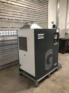 Compresor, calderín y secador por condensación ATLAS COPCO GA15 VSD