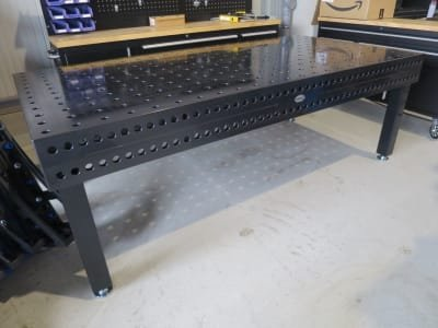 Welding table SIEGMUND 750 - 2,4 x 1,2 Nitriert
