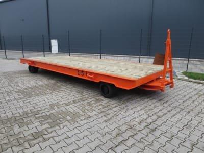 Heavy-duty trailer WMT D15/6,0 x 2,5