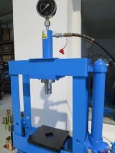Workshop press - hydraulic HBM P 10
