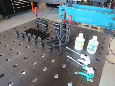 Welding table accessories, starter set WMT Basic-Set 1