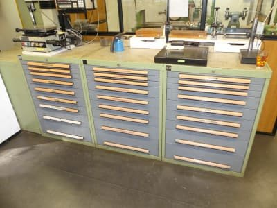 BOTT Lot Pull-Out Drawer Cabinets with Contents