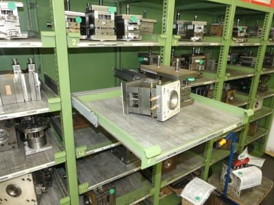 Storage Rack for Injection Moulding Tools