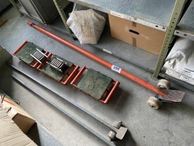 Lot Heavy Duty Transport Rollers