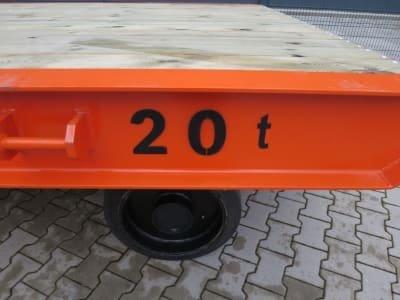 Heavy-duty trailer WMT D20/6,0 x 2,5
