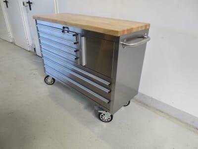 Tool trolley WMT 122 RVS
