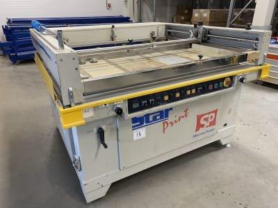 STAR PRINT MSA 7010 Screen printing machine
