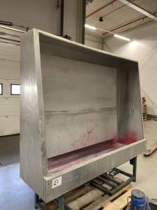 TEMA Screen printing washout booth