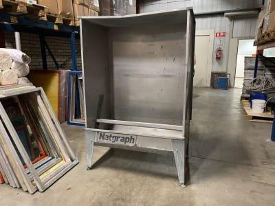 NATGRAPH Screen printing washout booth