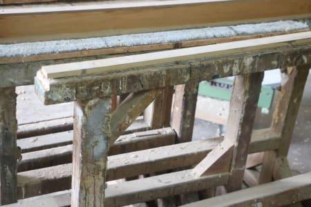 Lot Wood-Working Trestles
