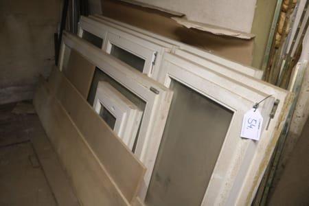 Lot Wooden Windows
