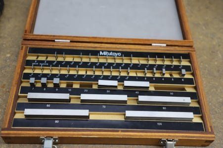 MITUTOYO Gauge Block Box