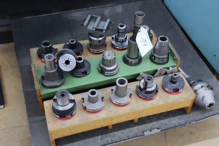 Lot of Tool Holders SK 50