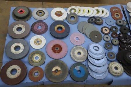 Lot of Grinding Discs