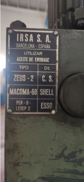 Taladro Radial IRSA