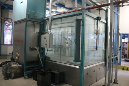 EISENMANN Electrostatic Enameling Booth