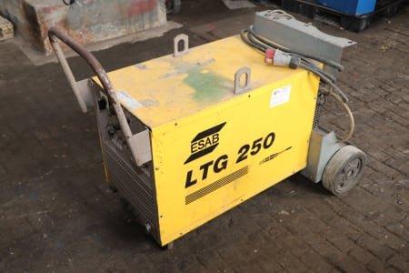 ESAB LTG250 + OCE 2H Welder