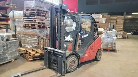 LINDE H30D-01 Diesel forklift