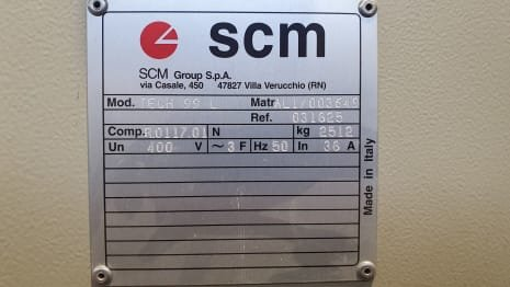 SCM TECH99L Machining centre