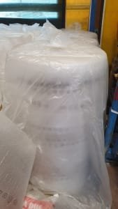 Lot of rolls of packing tape