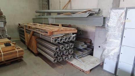 Aluminium mezzanine